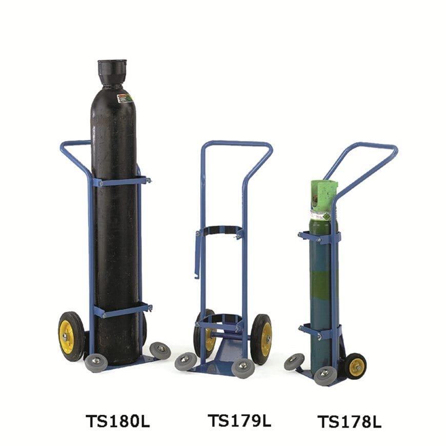Oxygen Cylinder Trolleys - Storage Systems and Equipment