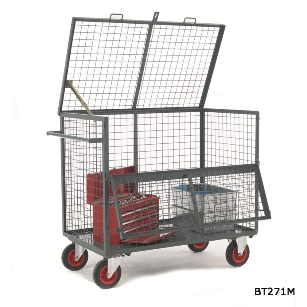 Security Box Trolleys Storage Systems And Equipment