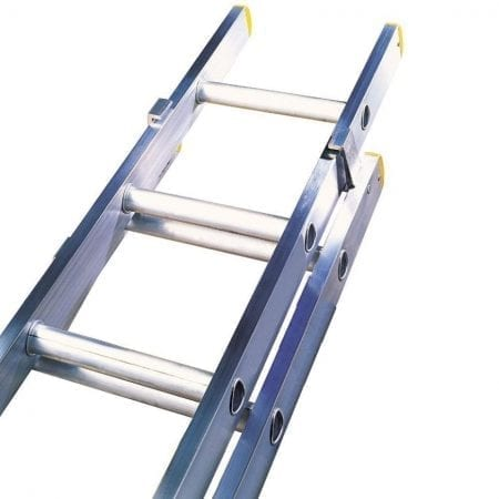 Double Section Extension Ladders