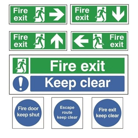 Fire Exit & Emergency Signs