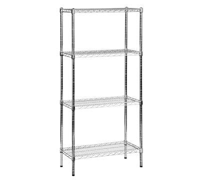 Stainless Steel Chrome Wire Shelving