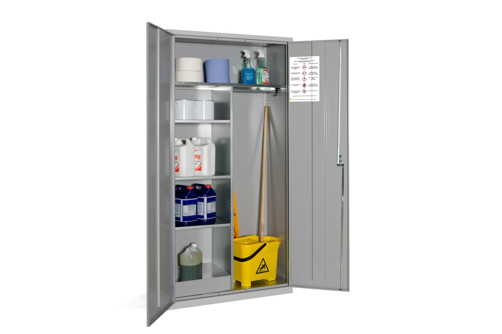 Janitorial Coshh Cabinets Storage Systems And Equipment