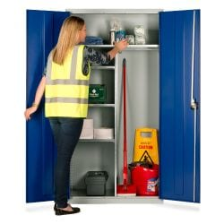 Janitorial/Cleaning Cupboards