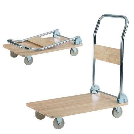 Wooden Deck Trolleys