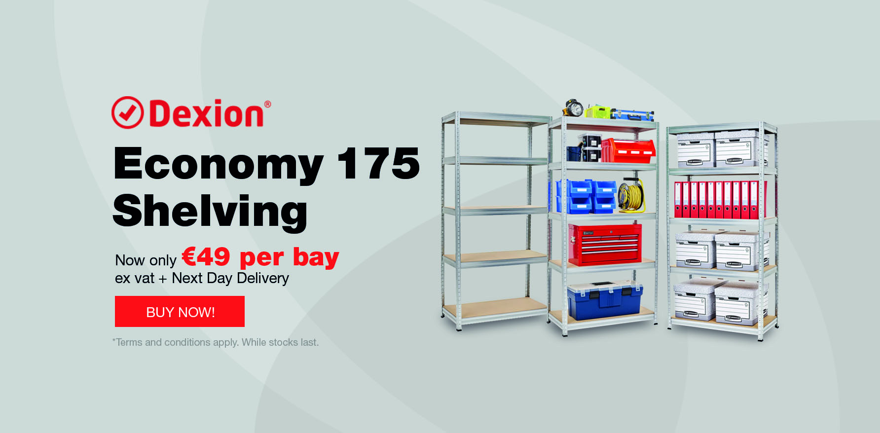 Storage Systems - Storage Shelving | Racking & Shelving