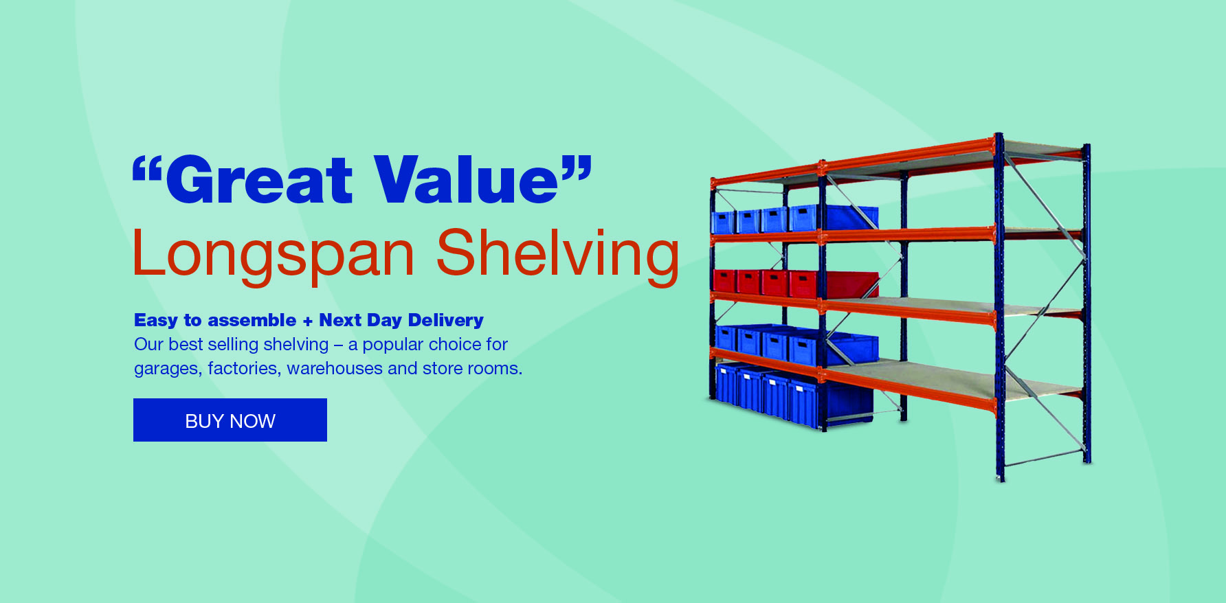 Storage Systems - Storage Shelving | Racking & Shelving | Materials