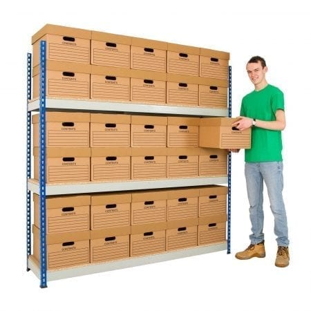 Rivet Archive Shelving