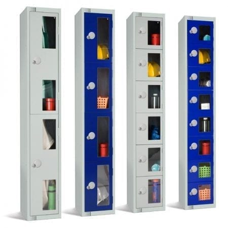 Vision Panel Lockers