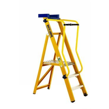 Glass Fibre Platform Ladders