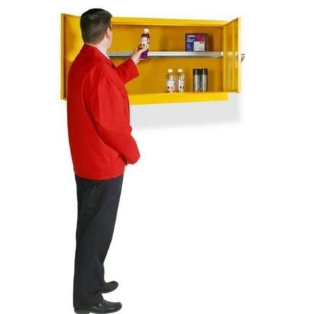 Wall Mounted Hazardous Substance Cabinets
