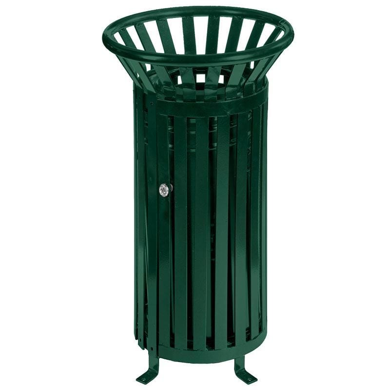 Outdoor Open Top Steel Bin - Storage Systems and Equipment